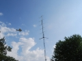 F5RMY flying over antennas