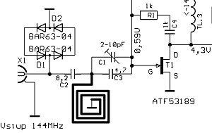 Convertisseur 144/14 MHz - OK1UGA
