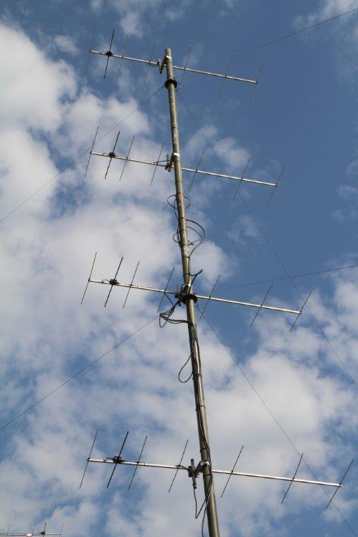 4 x 7el DK7ZB 28 ohms 144 MHz to SW/W