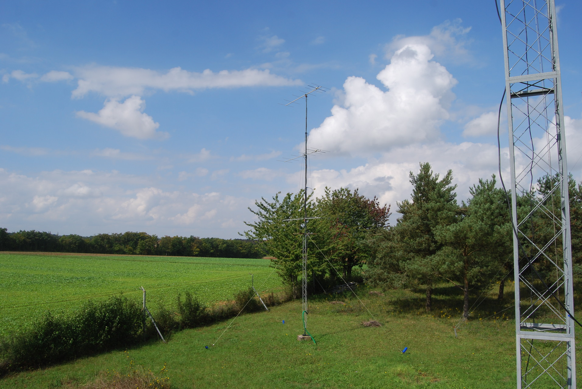 Antenna to west - 3 x 7 el DK7ZB