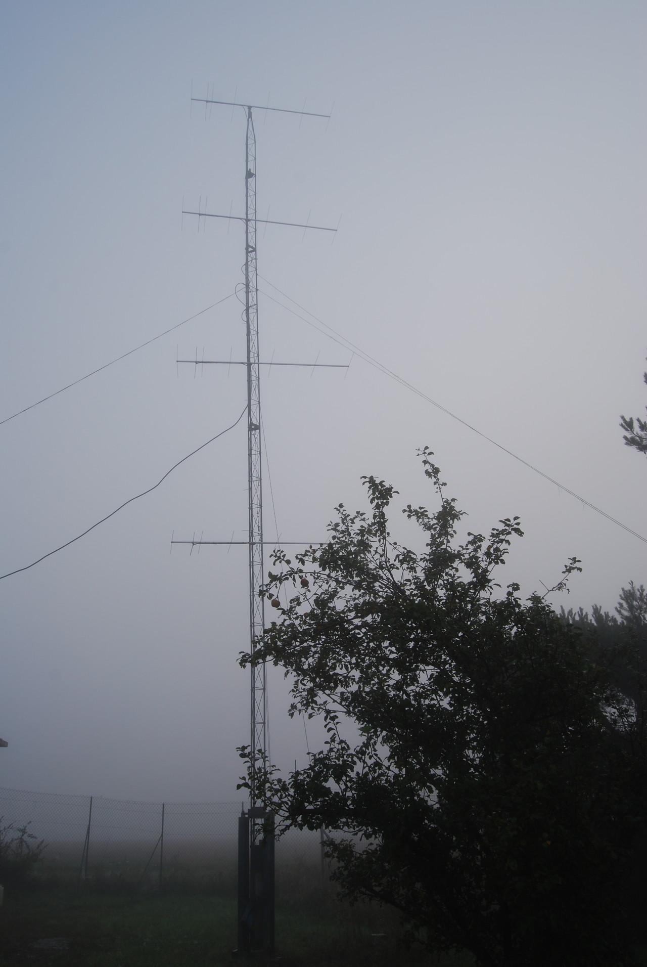 Sunday morning with fog